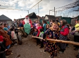 New Year in the Roma settlement