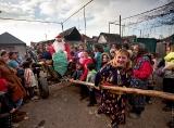 Новогодний праздник в таборе