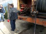 Technical work on the prevention and disinfection in the Roma camp