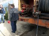 Технические работы по профилактике и дезинфекции в ромском таборе