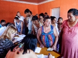 The elections of elder (baro) in the Roma settlement in Mukachevo
