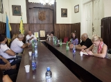 The study visit to Mukachevo