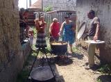 Благотворительный обед для ромов