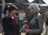 Visit of the Commissioner on human rights in Mukachevo