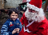 Prenew event in the Roma camp