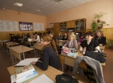 Seminar presentation about gender education at school (Mukachevo)