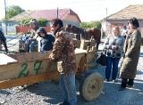 Нумерація повозок в ромському таборі (Мукачево)