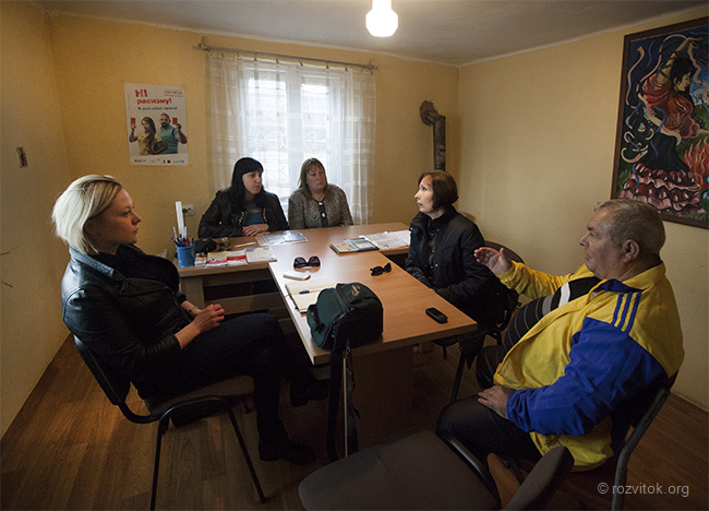 The Monitoring Visit of the Representative of the Parliament Commissioner of Ukraine on Human Rights to Mukachevo