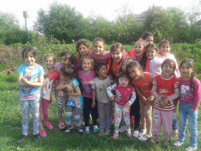 ромські діти табір Мукачево