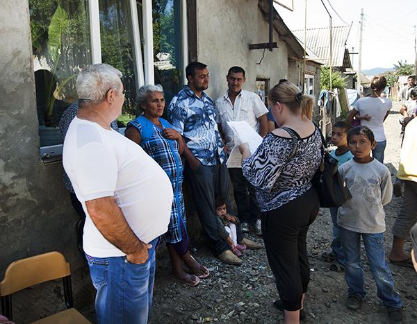 Моніторинг стану житлово-побутових умов в місцях компактного проживання ромів