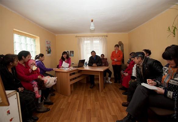 Семінар в ромському таборі Мукачево