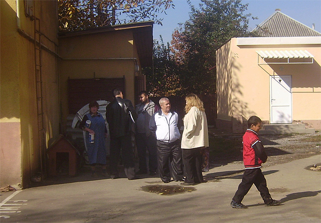 проверка ромской школы