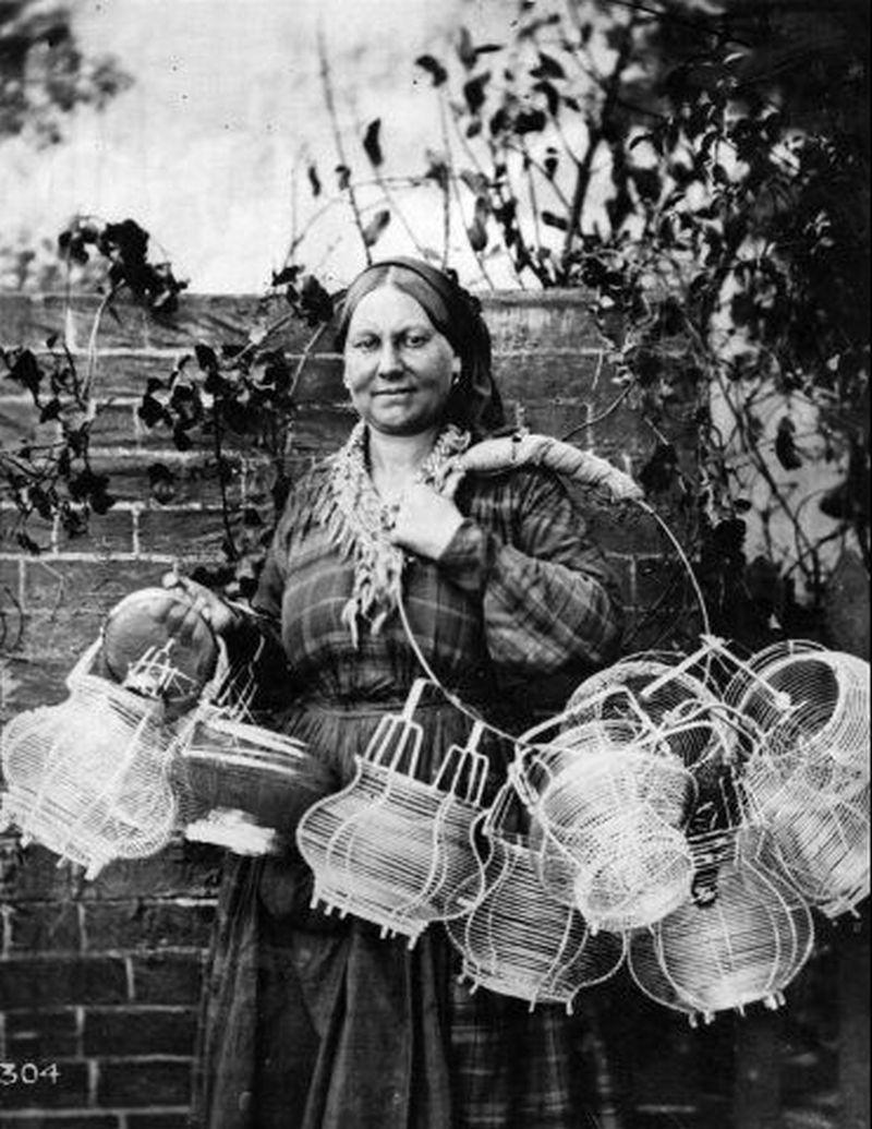 Ромське традиційне ремесло: кошикарство