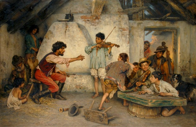Romani Life in Art